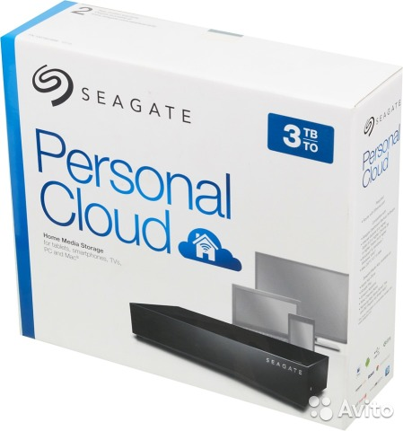 seagate 3tb personal cloud